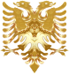 Golden Double Headed Eagle