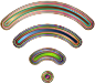 Wireless Signal Icon Enhanced 7 Variation 2
