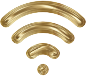 Wireless Signal Icon Enhanced 7 Variation 3