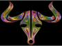 Chromatic Bull Icon