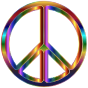 Chromatic Peace Sign