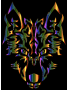 Chromatic Symmetric Tribal Wolf