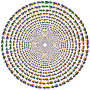 Colorful Direction Circle Vortex