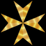 Gold Maltese Cross Mark II