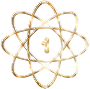 Gold Atom Enhanced No Background Thumbnail