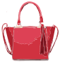 Pink Bag with Tassles