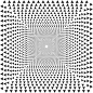 Hypnotic Triangular Vortex