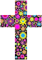 Floral Cross 2