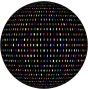 Prismatic Polka Dots Sphere