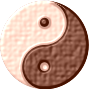 Leather Yin-Yang