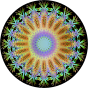Chromatic Symmetric Mandala 3