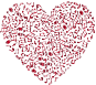 Crimson Musical Heart 4 No Background