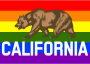 Rainbow Flag California 2