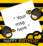 Bee Birthday Paper Thumbnail