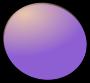 Peg People Fruit Purple