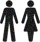 Prismatic Gender Equality Male And Female Figures 2