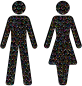 Prismatic Gender Equality Male And Female Figures 3