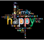 Prismatic Happy Family Word Cloud 2