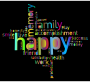 Prismatic Happy Family Word Cloud 3