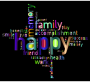Prismatic Happy Family Word Cloud 4