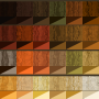 wood grain colour chart