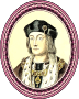 King Henry VII (framed)
