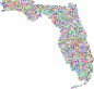 Prismatic Florida Hexagonal Mosaic