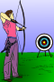Archery (colour)