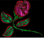 Stylized Rose Extended
