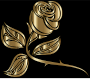 Stylized Rose Extended 9