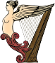 Harp (coloured)