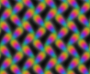 Colourful pattern 2 (black background)