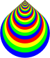 Colorful Concentric Rings