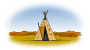 Lutz - tepee colored