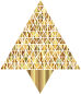 Prismatic Abstract Triangular Christmas Tree 8