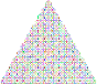 Prismatic Abstract Squares Christmas Tree