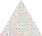 Prismatic Abstract Squares Christmas Tree 2