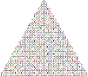 Prismatic Abstract Squares Christmas Tree 3