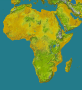 Africa topology (detailed)