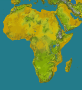 Africa topology (smaller file)
