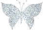 Silver Tiled Butterfly
