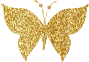 Gold Tiled Butterfly