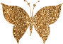 Gold Tiled Butterfly 2