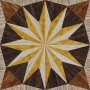 wooden triangle tiling 1