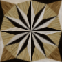 wooden triangle tiling 4