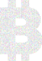 Prismatic Bitcoin Logo Binary 2