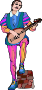 Shakespeare characters - musician 2 (colour)