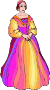 Shakespeare characters - Lady Montague (colour) Thumbnail