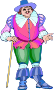 Shakespeare characters - Falstaff (colour)