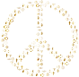 Gold World Religions Peace No Background